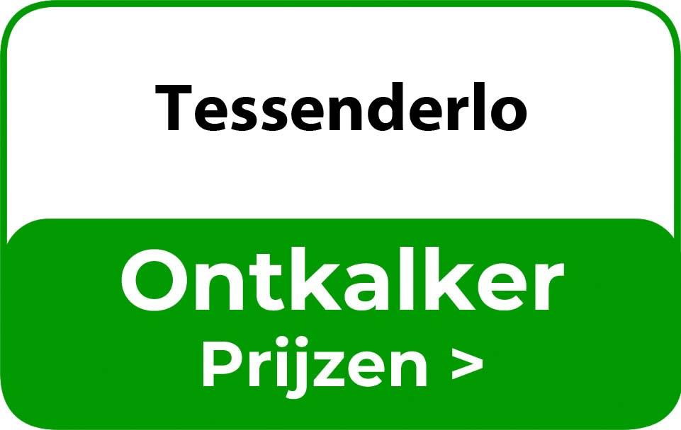 Ontkalker in de buurt van Tessenderlo