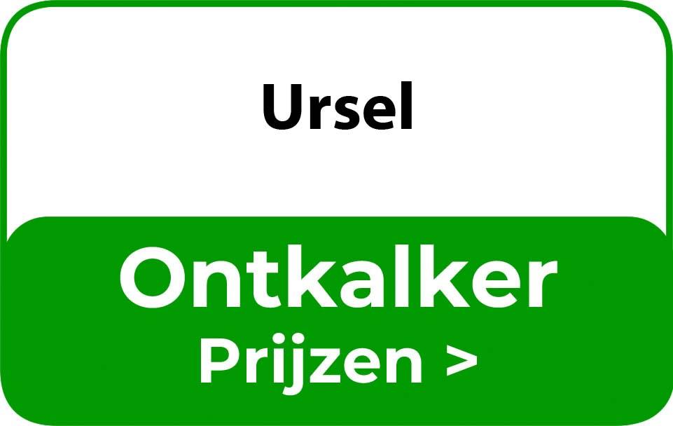Ontkalker in de buurt van Ursel