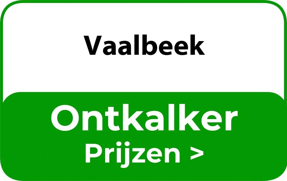 Ontkalker in de buurt van Vaalbeek