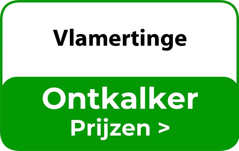 Ontkalker in de buurt van Vlamertinge