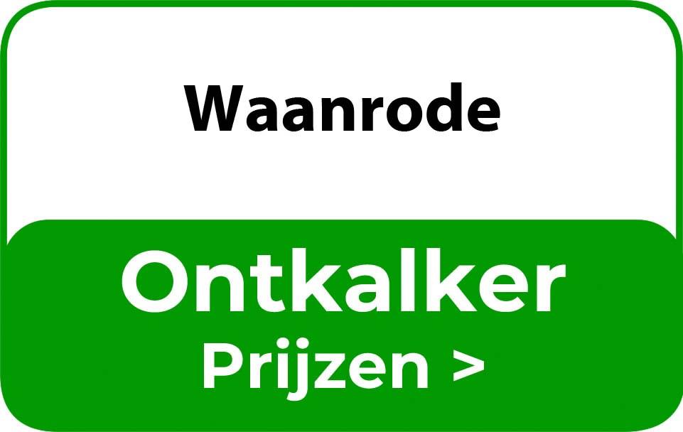 Ontkalker in de buurt van Waanrode