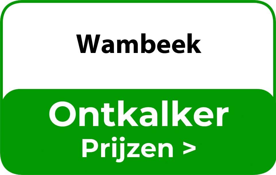 Ontkalker in de buurt van Wambeek