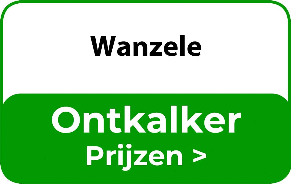 Ontkalker in de buurt van Wanzele