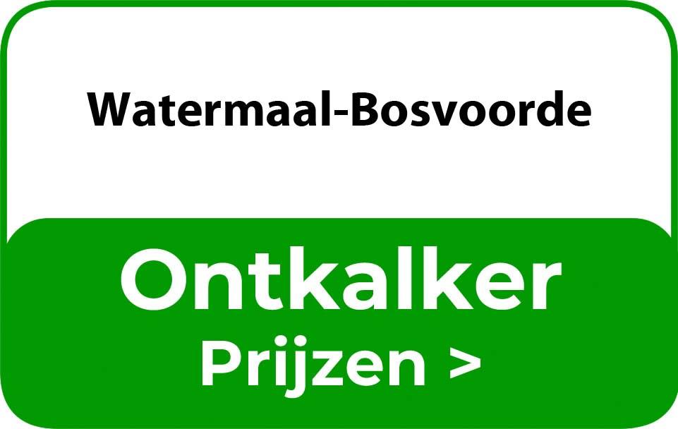 Ontkalker in de buurt van Watermaal-Bosvoorde