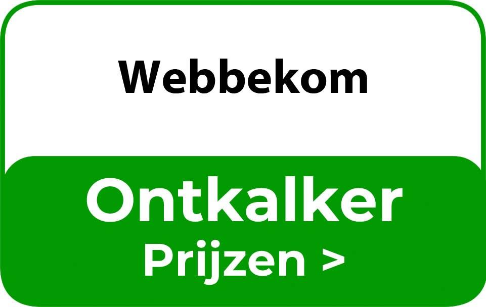 Ontkalker in de buurt van Webbekom