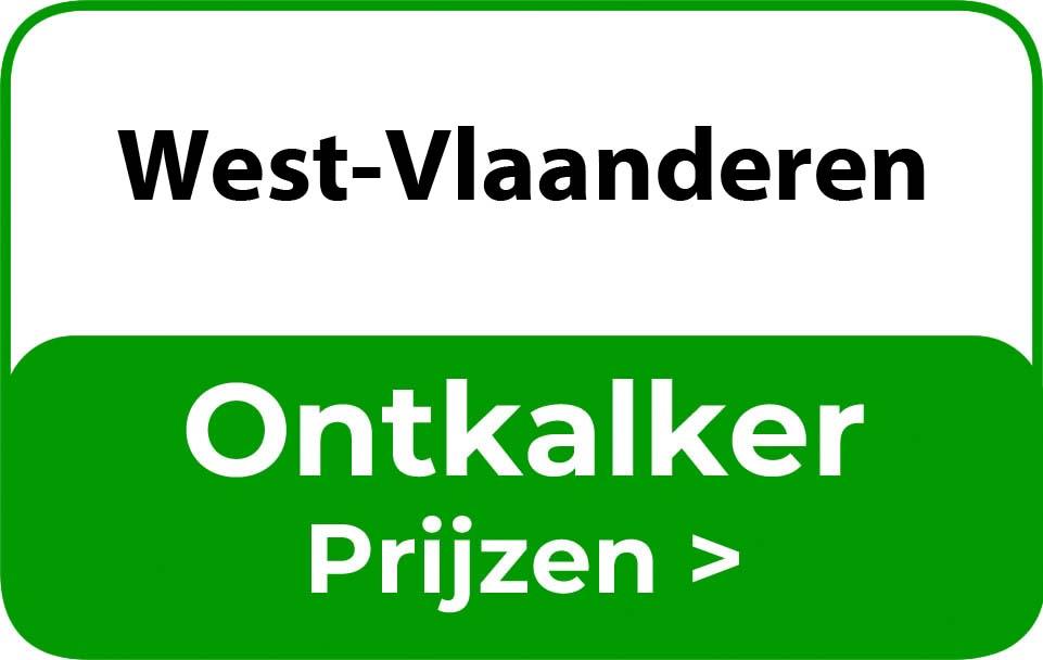 Ontkalker in de buurt van West-Vlaanderen