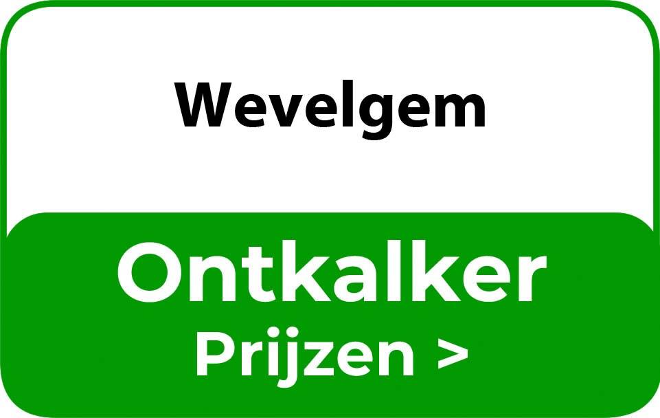 Ontkalker in de buurt van Wevelgem
