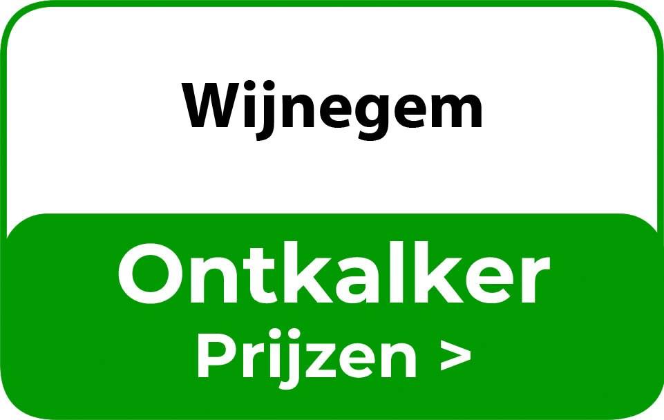 Ontkalker in de buurt van Wijnegem