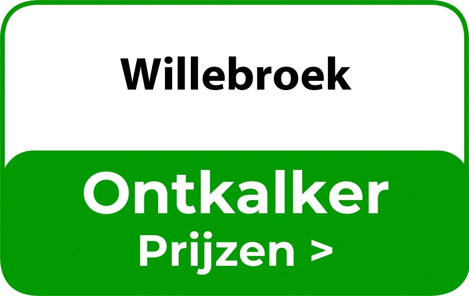 Ontkalker in de buurt van Willebroek