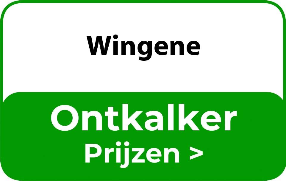 Ontkalker in de buurt van Wingene