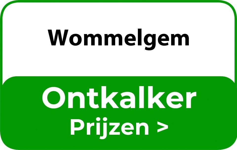 Ontkalker in de buurt van Wommelgem
