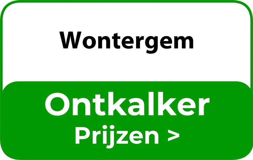 Ontkalker in de buurt van Wontergem
