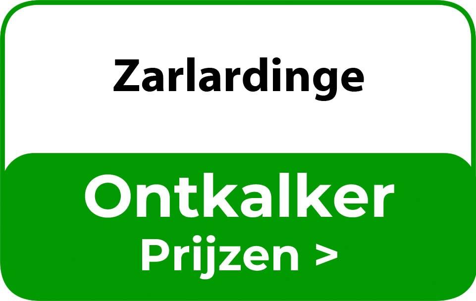 Ontkalker in de buurt van Zarlardinge