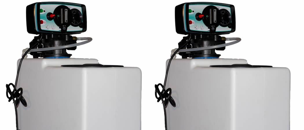 Waterverachters met of zonder regeneratiezout