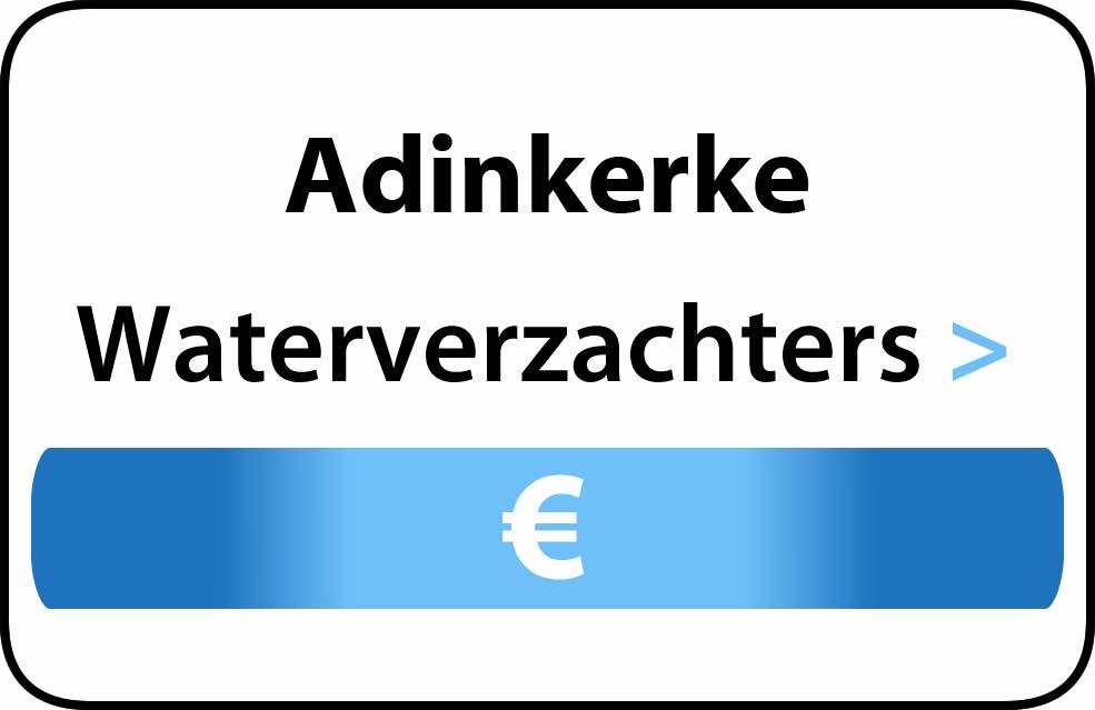 Waterverzachter in de buurt van Adinkerke