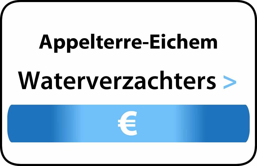 Waterverzachter in de buurt van Appelterre-Eichem