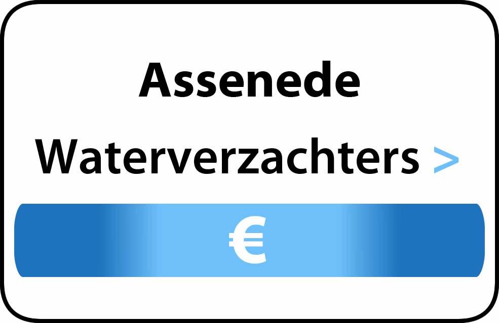 Waterverzachter in de buurt van Assenede