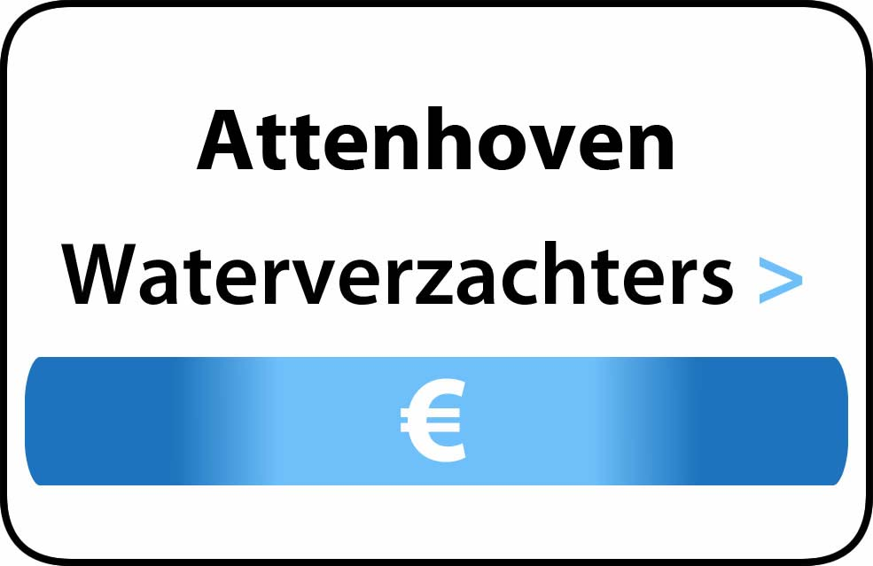 Waterverzachter in de buurt van Attenhoven