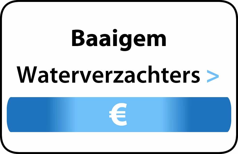 Waterverzachter in de buurt van Baaigem