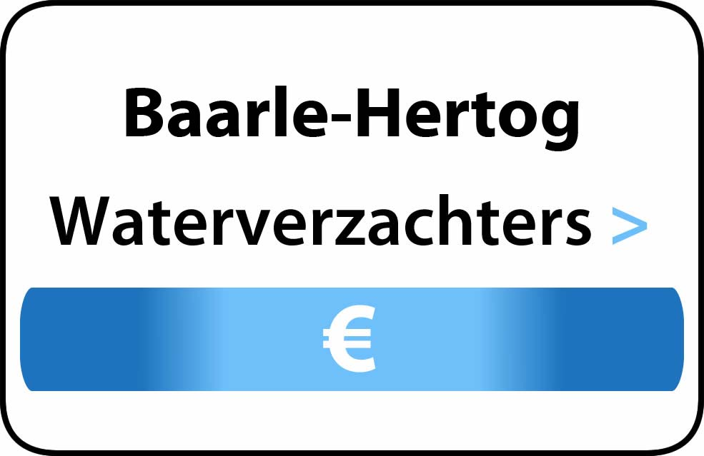 Waterverzachter in de buurt van Baarle-Hertog