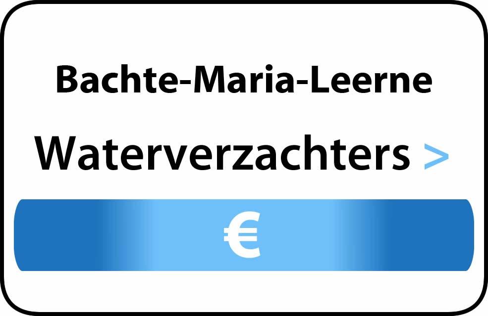 Waterverzachter in de buurt van Bachte-Maria-Leerne