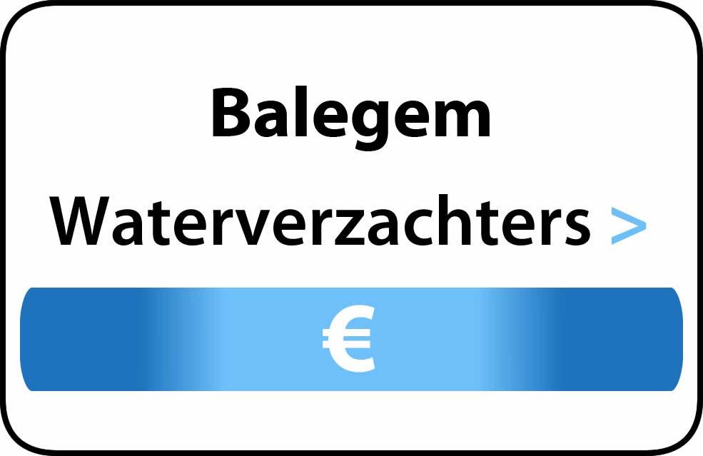 Waterverzachter in de buurt van Balegem