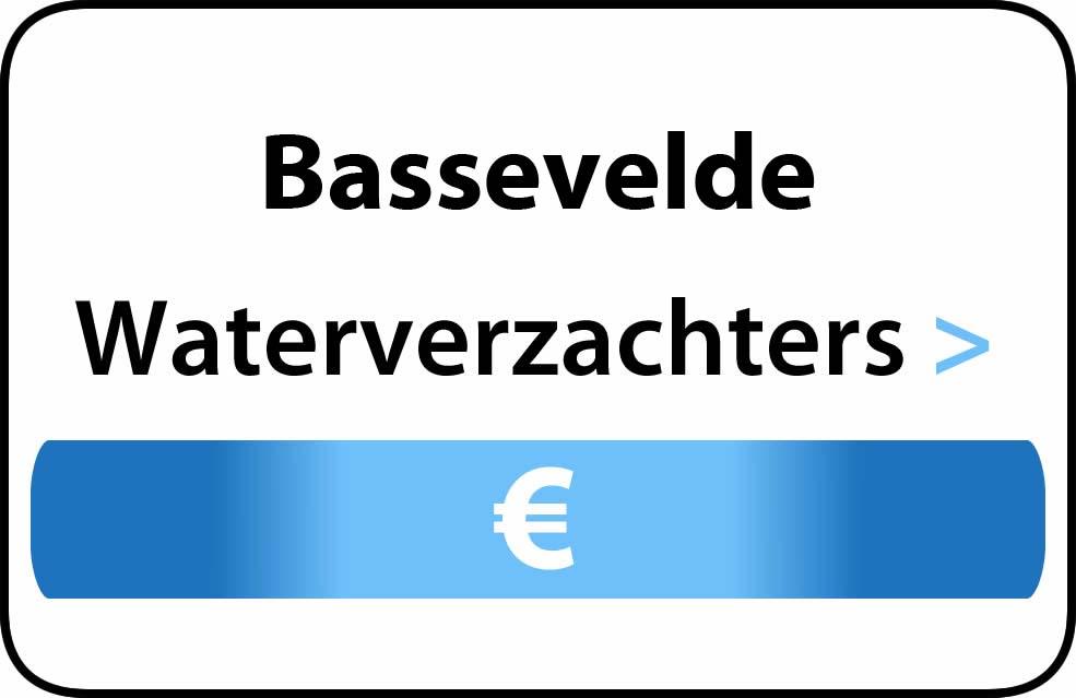 Waterverzachter in de buurt van Bassevelde