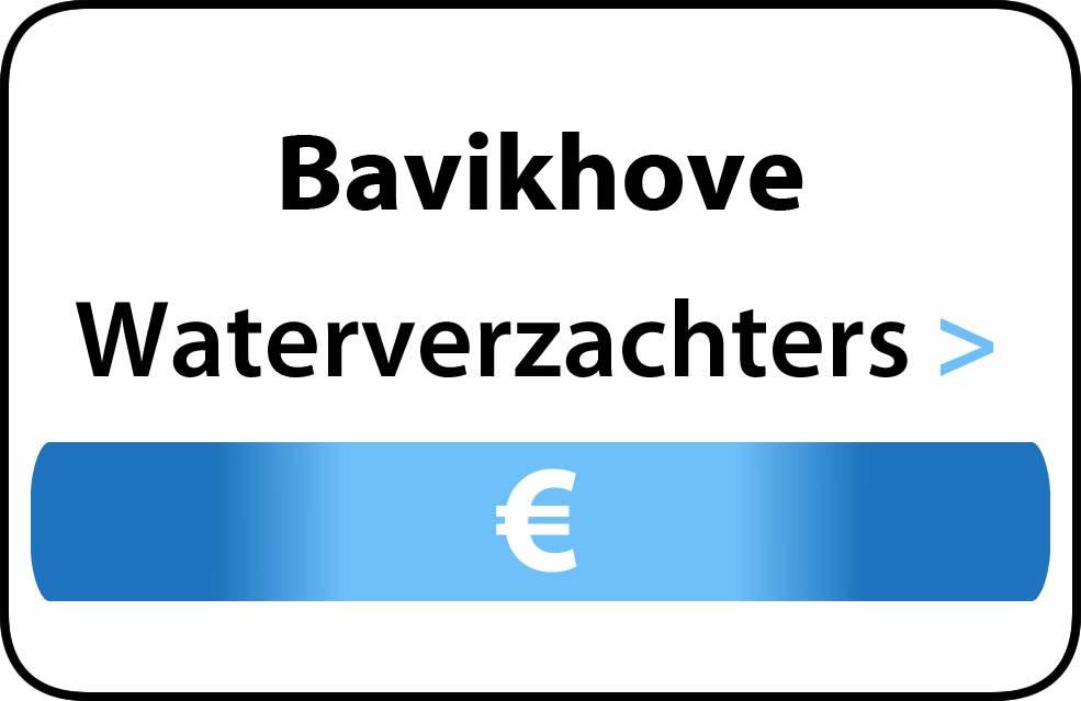 Waterverzachter in de buurt van Bavikhove