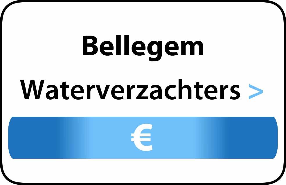 Waterverzachter in de buurt van Bellegem