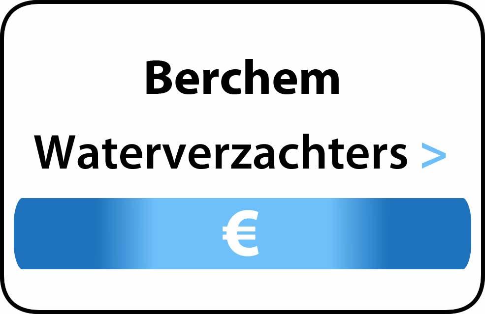 Waterverzachter in de buurt van Berchem