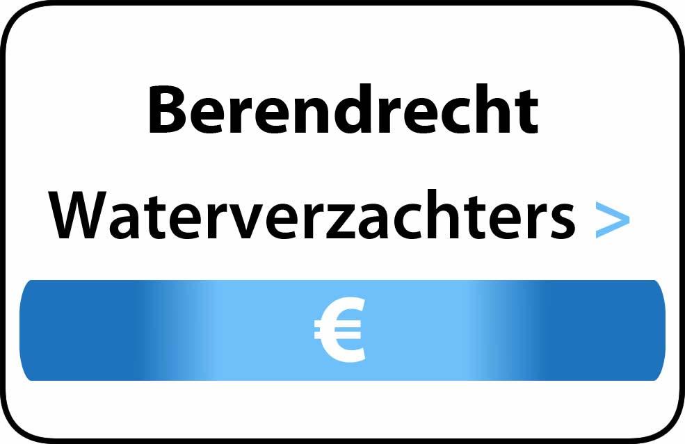 Waterverzachter in de buurt van Berendrecht