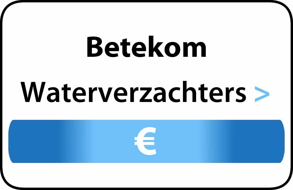 Waterverzachter in de buurt van Betekom
