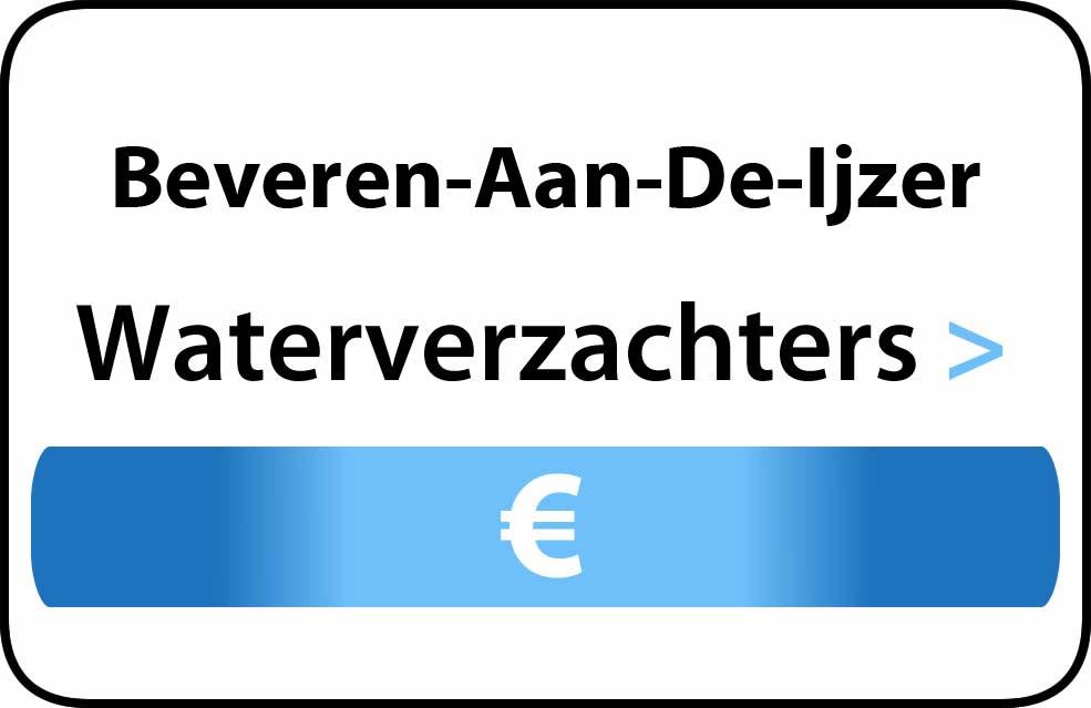 Waterverzachter in de buurt van Beveren-Aan-De-Ijzer