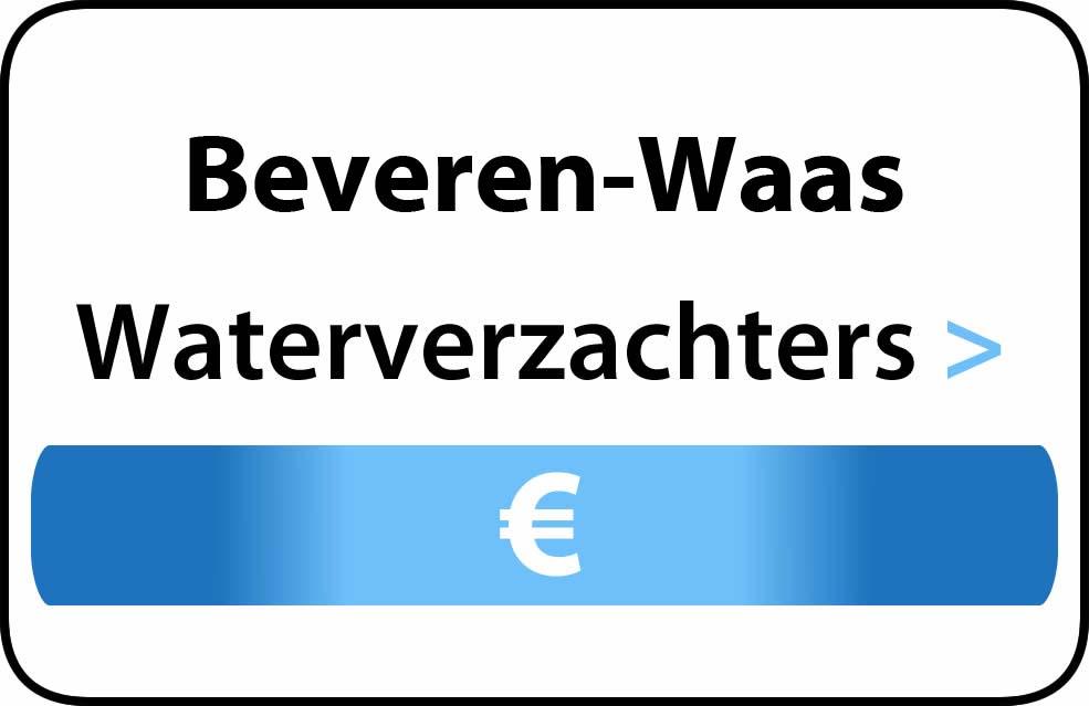 Waterverzachter in de buurt van Beveren-Waas