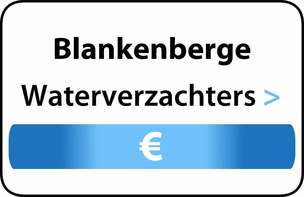 Waterverzachter in de buurt van Blankenberge