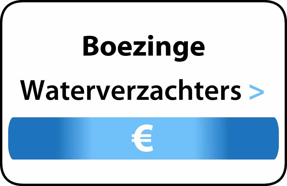 Waterverzachter in de buurt van Boezinge