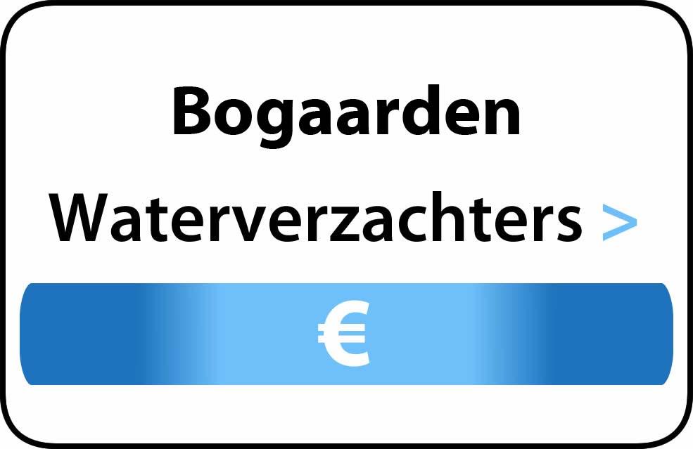 Waterverzachter in de buurt van Bogaarden