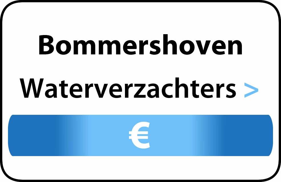 Waterverzachter in de buurt van Bommershoven