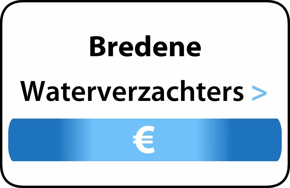 Waterverzachter in de buurt van Bredene