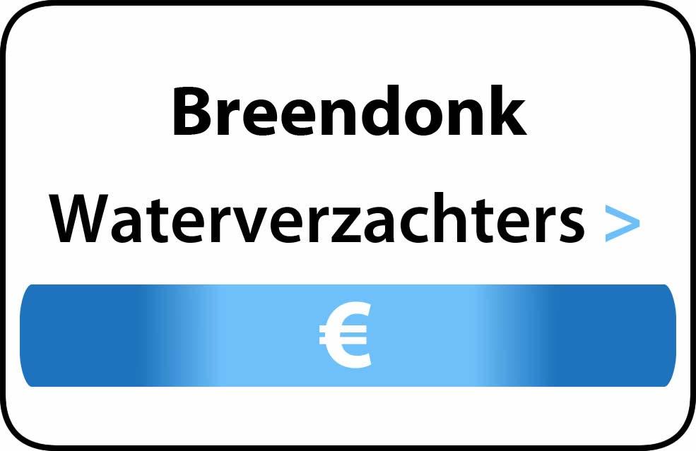 Waterverzachter in de buurt van Breendonk