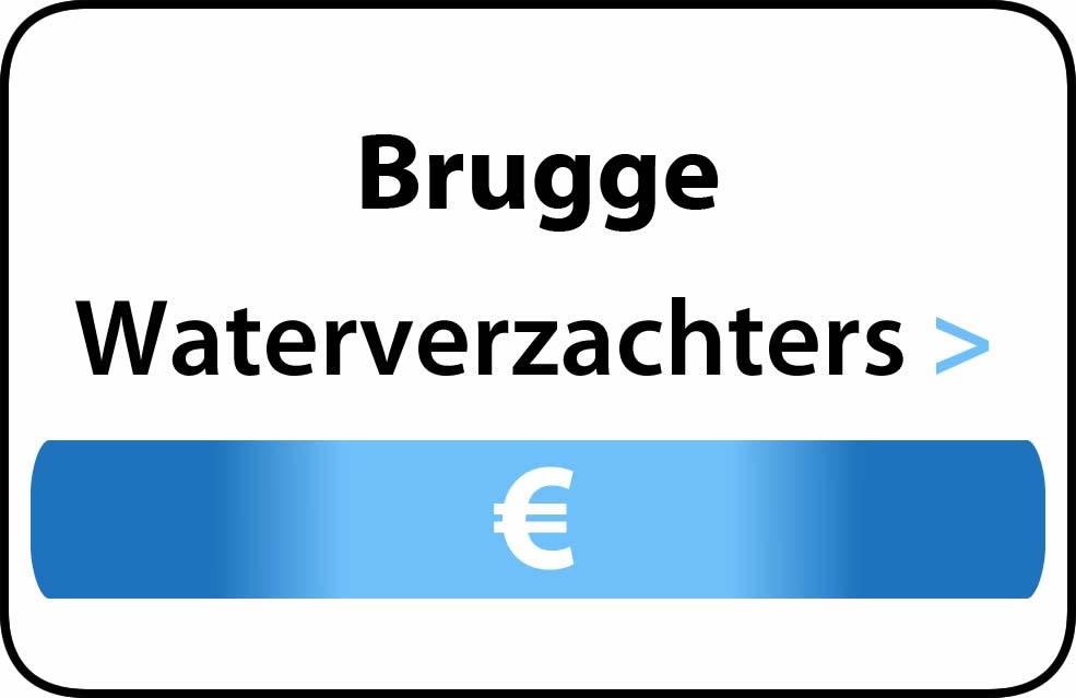 Waterverzachter in de buurt van Brugge