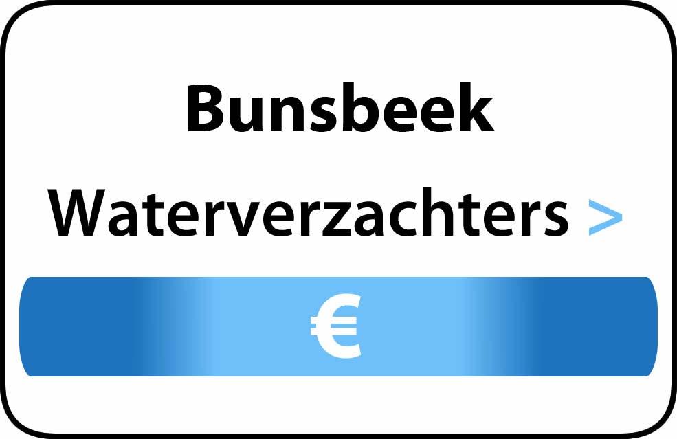 Waterverzachter in de buurt van Bunsbeek