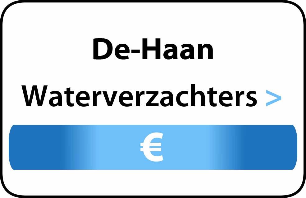 Waterverzachter in de buurt van De Haan