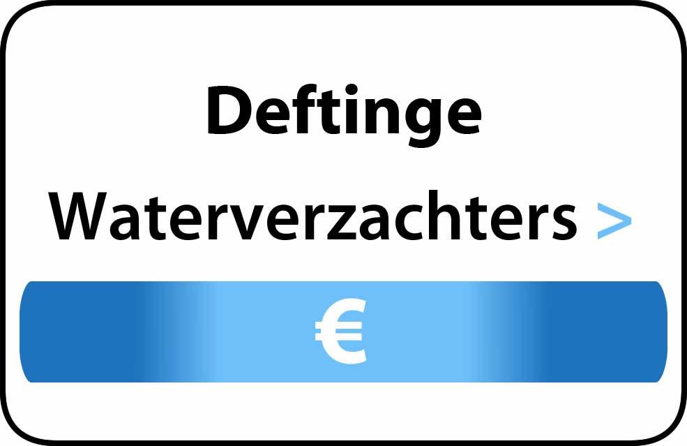 Waterverzachter in de buurt van Deftinge