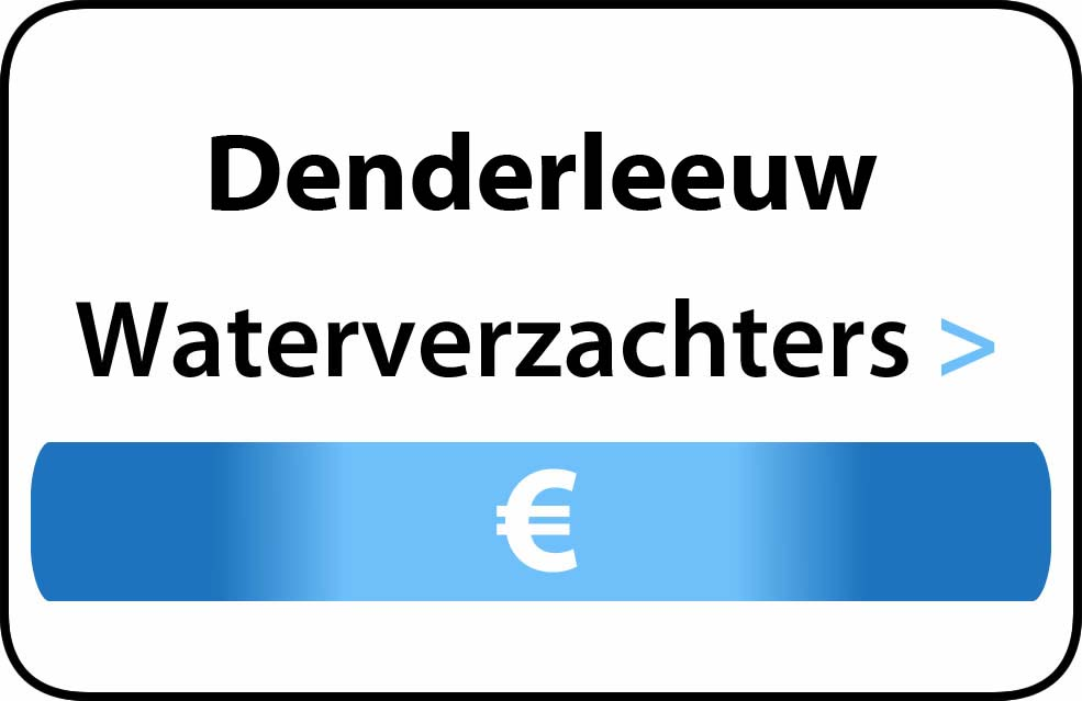 Waterverzachter in de buurt van Denderleeuw