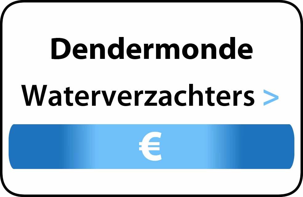 Waterverzachter in de buurt van Dendermonde