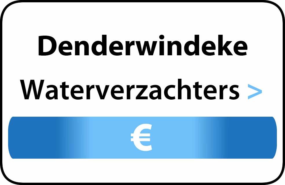 Waterverzachter in de buurt van Denderwindeke