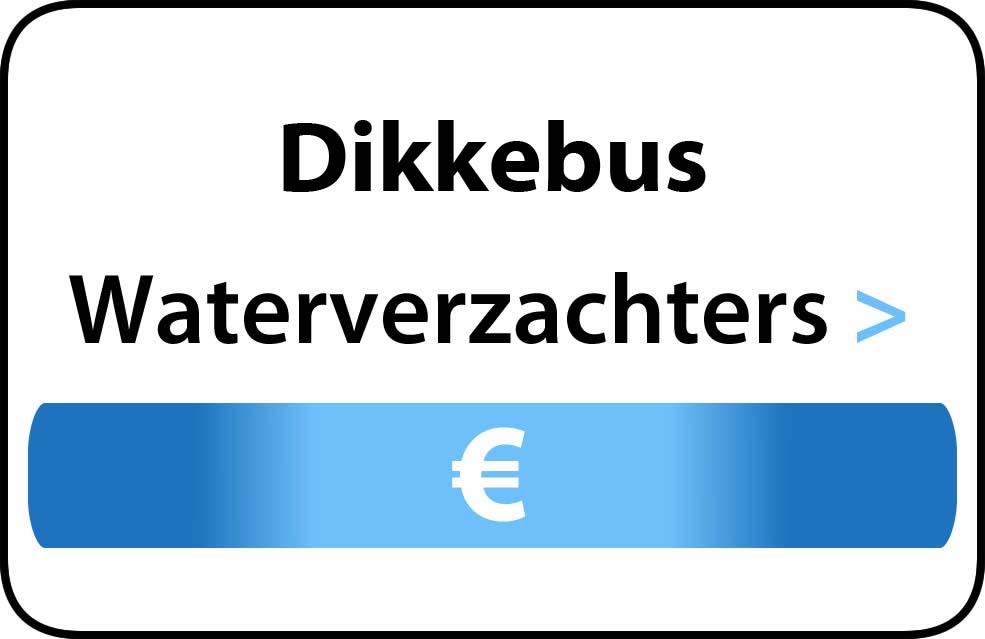Waterverzachter in de buurt van Dikkebus