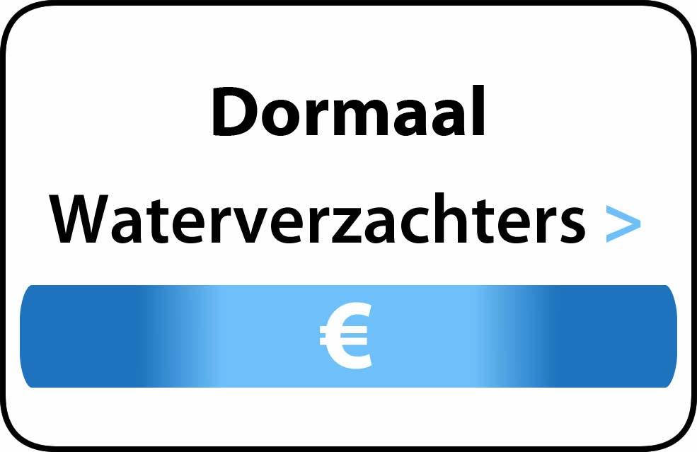Waterverzachter in de buurt van Dormaal