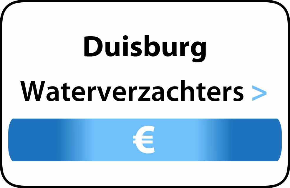 Waterverzachter in de buurt van Duisburg